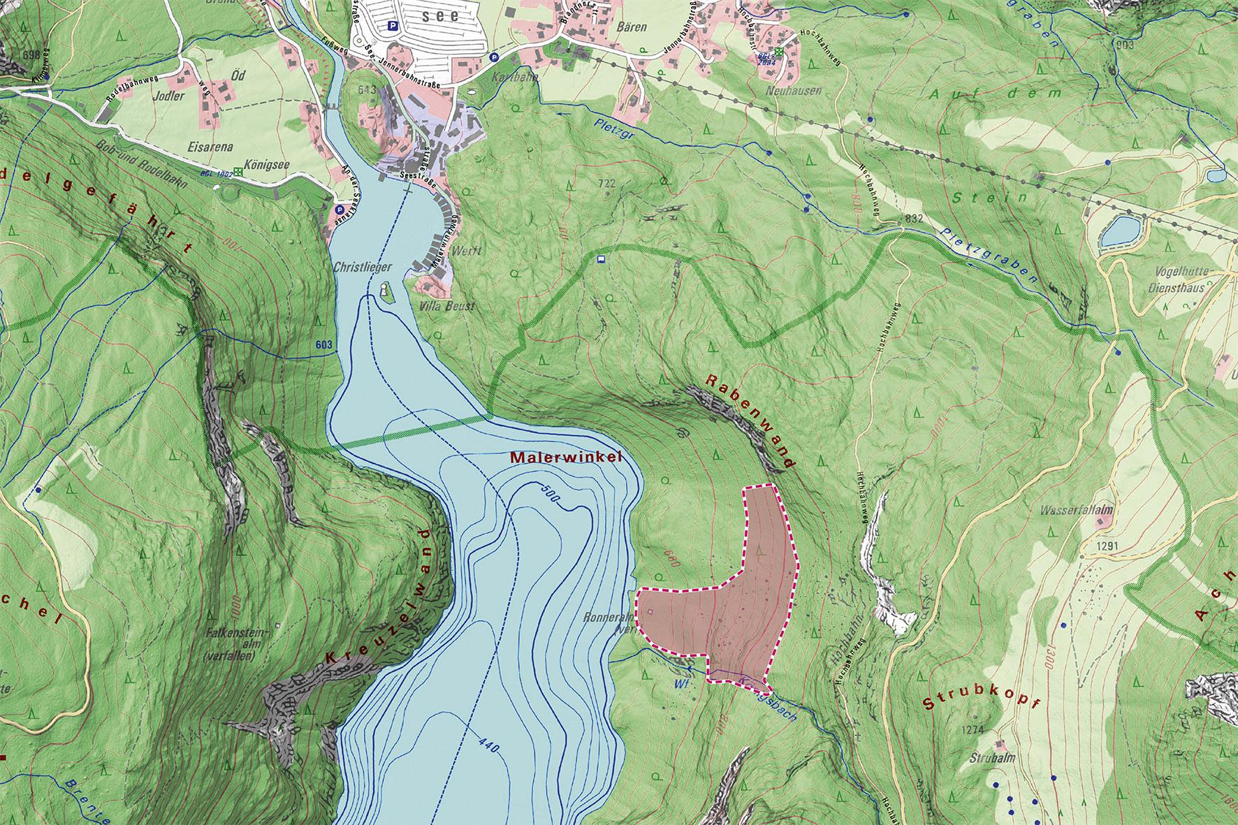 Pressebild: (c) Geobasisdaten: Bayerische Vermessungsverwaltung